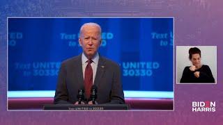 Joe Biden Responds LIVE to President Trump's Supreme Court Nomination