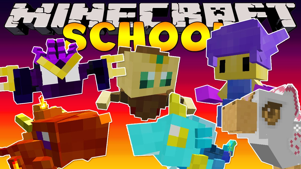Minecraft School Magical Pets Youtube