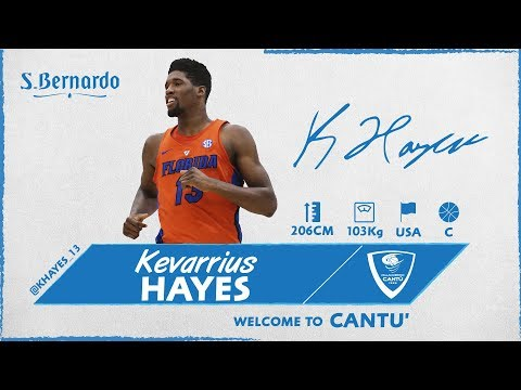Welcome To Cantù: Kevarrius Hayes