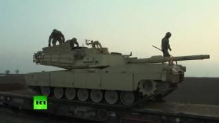 В Румынию прибыла первая партия американских танков