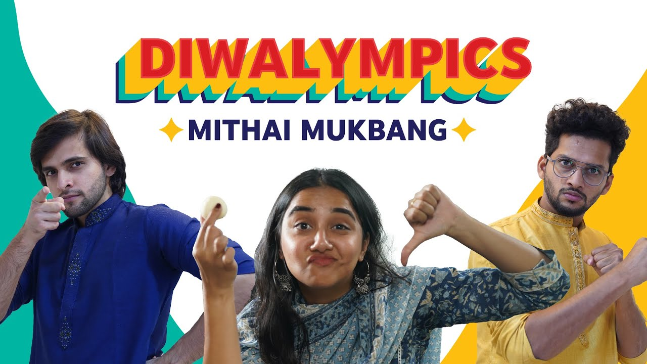 MithaI Mukbang ft. MostlySane & Funcho | Celebrate Diwali #WithMe