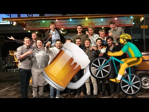 BELFAST BICYCLE BAR (Wee Toast Tours) | Pricey's Birthday | Vlog 3