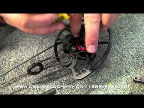 How to Change Draw Modules on the Mathews Monster Bows by