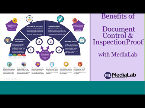 Benefits of Document Control & InspectionProof with MediaLab 2017-05-10