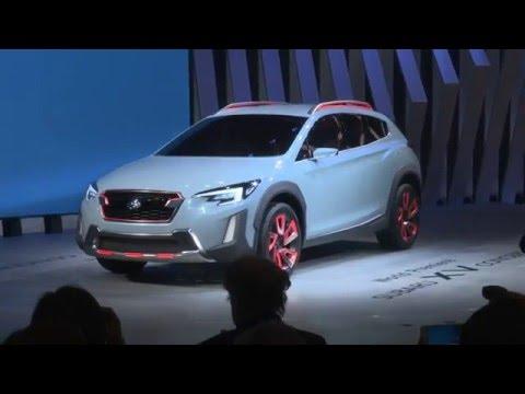 Présentation du Subaru XV Concept