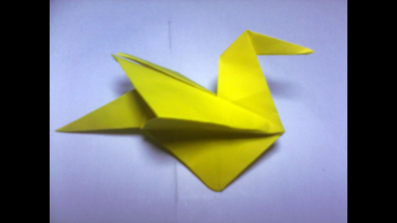 How To Make Origami Duck Easy