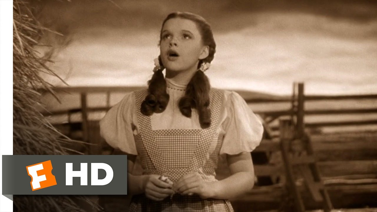 Clip Art Wizard Of Oz Clips somewhere over the rainbow wizard of oz 18 movie clip 1939 hd youtube