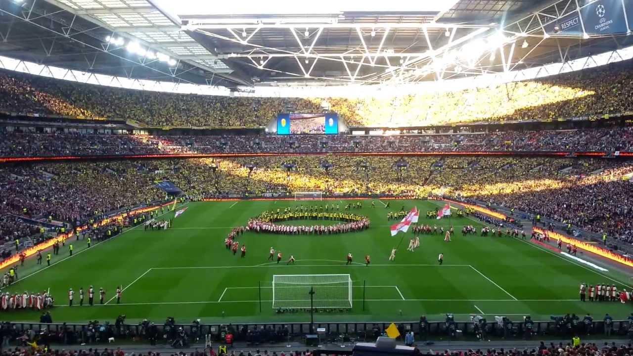 2013 Uefa Champions League Final Wembley Stadium Youtube