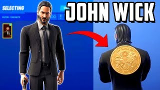 LEAKED SKIN and CHALLENGES JOHN WICK-Fortnite
