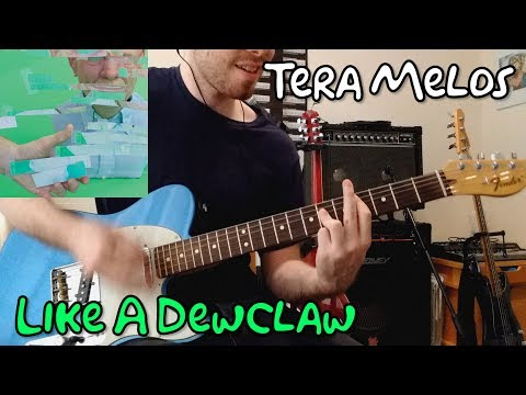 Tera Melos - Like A Dewclaw - Guitar Cover (with tab)