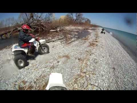 Newtonville Atv ride by the lake 350X 250 tecate