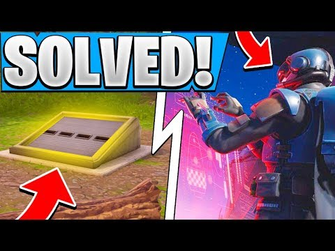 *NEW* Fortnite VISITOR Story Line Solved! | Secret BUNKER Info! ( Season 4 Mirror of Lies )