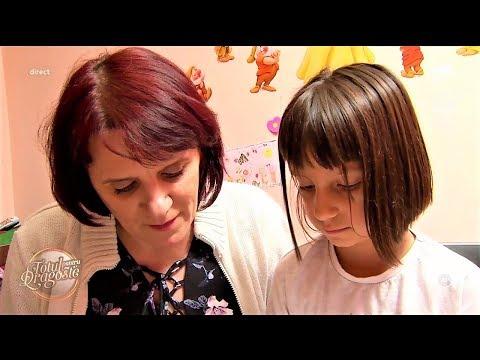 Ana Maria Gomboș, 41 de ani, profesoară de limba română, a adoptat o fetiță de șapte ani