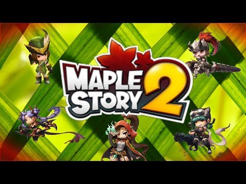 Maplestory 2 (2017): First look gameplay – Assassin