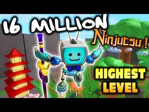 [16 Million Ninjutsu] Roblox NINJA ASSASSIN Simulator ...