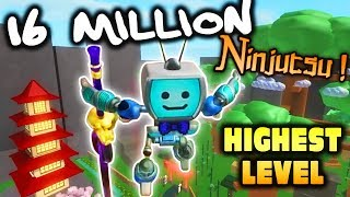 [16 Million Ninjutsu] Roblox NINJA ASSASSIN Simulator - Highest Level Weapons and Powers