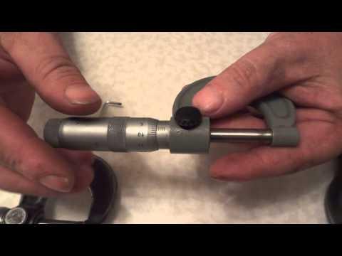видео: Работа с микрометром и измерение лески