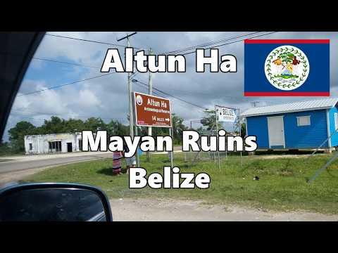 Belize Altun Ha Mayan Ruins