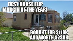 Best House Flip Deal of the Year Bought 5/13/2019