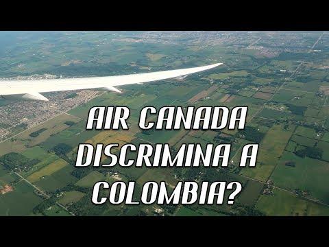 C❤L❤MBIA DISCRIMINADA POR ✈AIR CANADA?