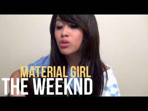 The Weeknd - Material Girl (Cover by Jessica Domingo)