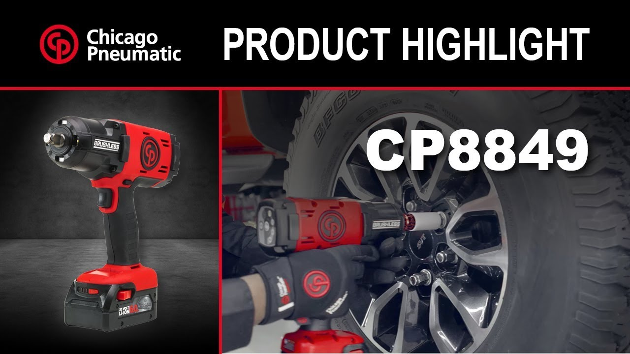 Cp8849 2 Cordless 1 Impact Wrenches