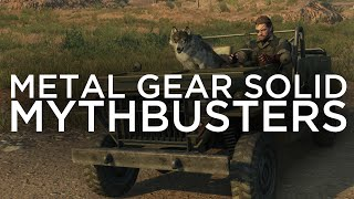 Metal Gear Solid V Mythbusters (Secrets, Tips, Tricks, Glitches, Easter Eggs, and more!) Episode 7