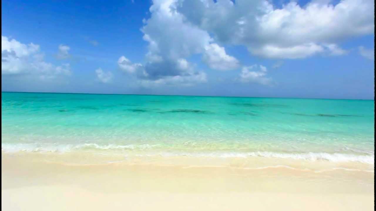 Isolated Paradise Grace Bay Beach Turks Caicos
