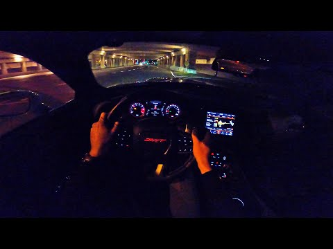 2020 DODGE Challenger SRT HELLCAT XR WIDEBODY 888HP | NIGHT DRIVE POV By AutoTopNL