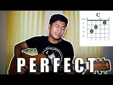 """TUTORIAL (CEPAT!) GITAR """"PERFECT - ED SHEERAN"""" [BAHASA INDONESIA]"""