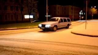 Volvo 740 TURBO snow fun