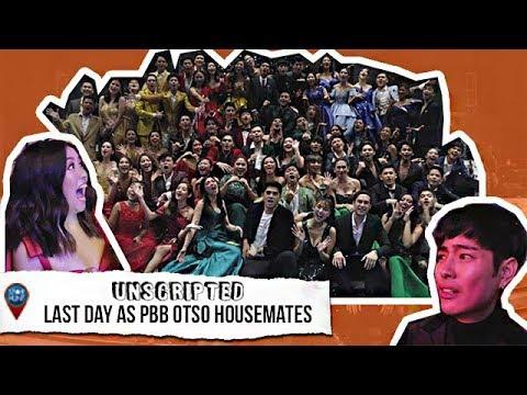 Ang Huling Araw Bilang PBB OTSO Housemates  Star Hunt Unscripted EXCLUSIVE