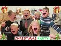 🎄🎁Kids Hilarious CHRISTMAS PARTY Games and the GLOWING FOOTBALL!🏈