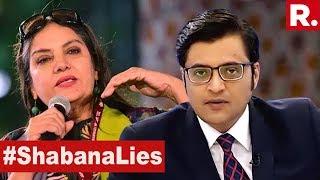 Shabana Azmi Triggers Intolerance Debate | The Debate With Arnab Goswami