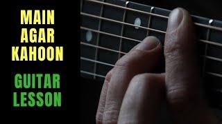 Main Agar Kahoon - Om Shanti Om [Guitar Lesson] / Guitarena Music