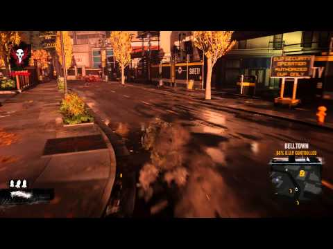 inFamous Second Son free roam  - Endless Concrete Running Through The City