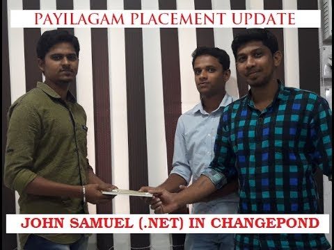 Payilagam Placement - John Samuel(Changepond) - .NET Training in Chennai