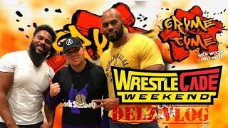 A Day With Cryme Tyme At Wrestlecade  - Delz Vlog
