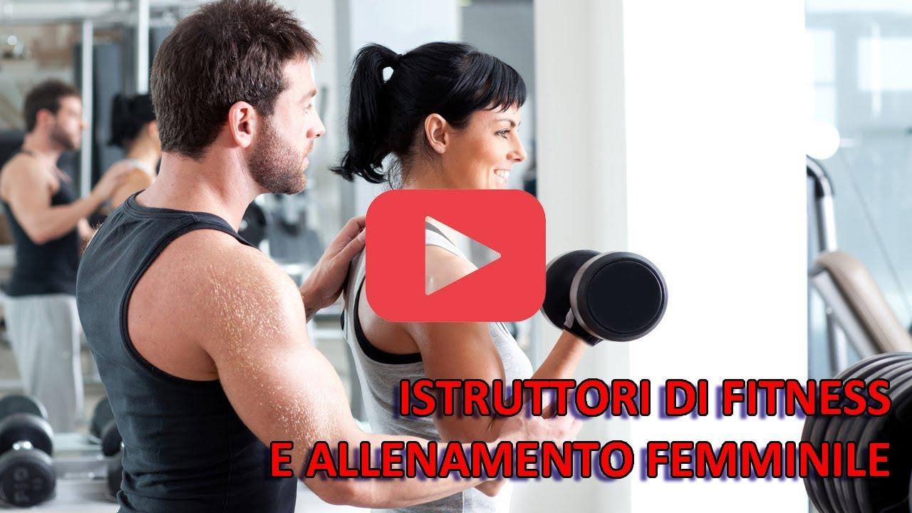Istruttori di fitness e allenamento femminile
