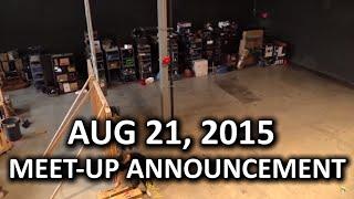 August 21, 2015 Meet Up Announcement
