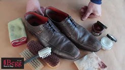 How to polish your shoes by Begg Shoes