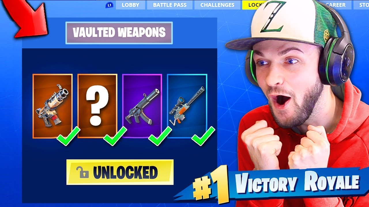 Using Vaulted Guns ONLY to WIN!