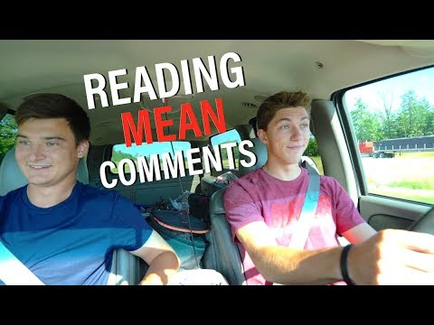 My Feelings Are HURT... -- Reading Mean Comments