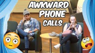SAVAGE PHONE CALLS IN PUBLIC *2018*