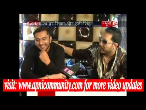 Mika Singh and Yo Yo Honey Singh In Conversation