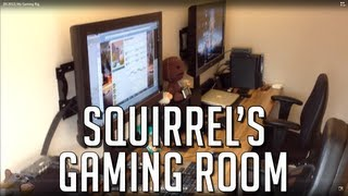 Dasquirrelsnuts Dedicated Gaming Room