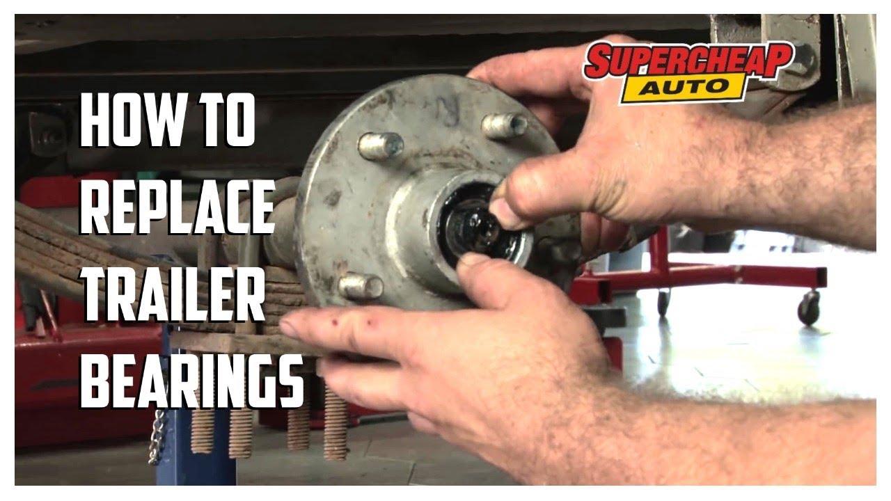 How to  Replace Trailer Wheel Bearings  Supercheap Auto  YouTube