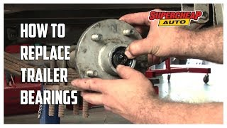 How to - Replace Trailer Wheel Bearings // Supercheap Auto