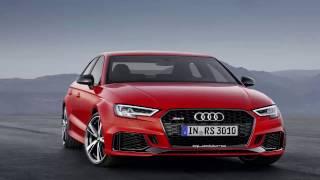 видео Париж-2016 - дебют заряженного седана Audi RS3 2017