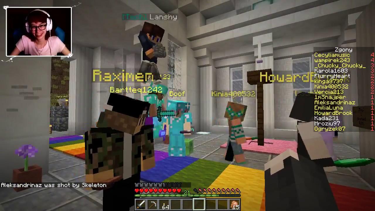 """[Archiwum] Live – Minecraft Serwer z Howardem (1) – [1/3] – """"Bezdomna Ania"""""""